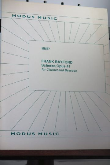 Bayford F - Scherzo Op 41 for Clarinet & Bassoon
